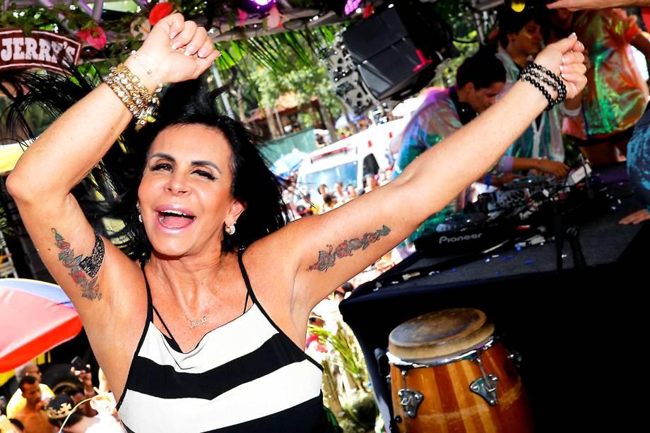 Gretchen no Bloco Love Fest na República em São Paulo - 27/02/2017