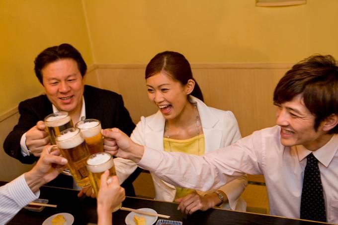 Happy Hour no Japão
