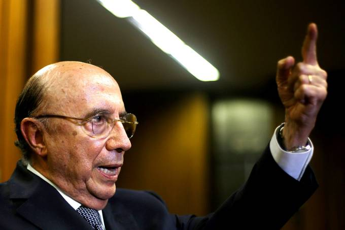 Ministro das Finanças Henrique Meirelles