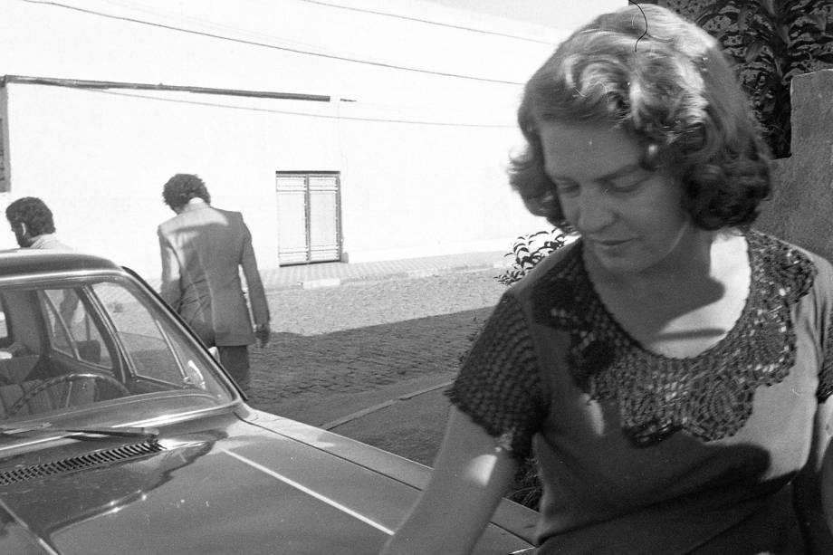 Marisa Letícia em foto de 1980, ano em que Lula foi preso pela ditadura militar
