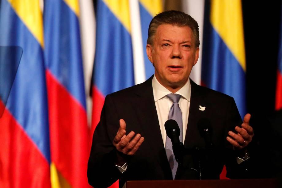 Juan Manuel Santos - O presidente da Colômbia é suspeito de ter recebido 2 milhões de dólares da Odebrecht para sua campanha presidencial. A injeção ilegal de recursos é investigada e, caso confirmada, pode servir de base para um processo de impeachment