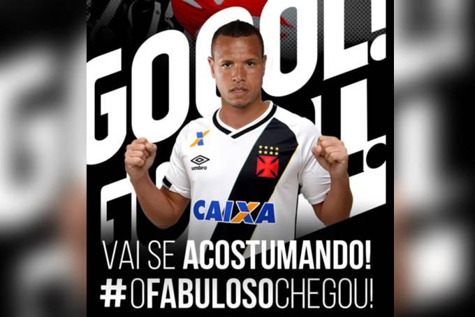 Luís Fabiano é anunciado pelo Vasco