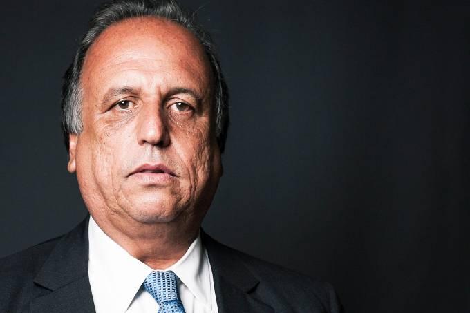 O governador do Rio de Janeiro, Luiz Fernando Pezão – 03/02/2015