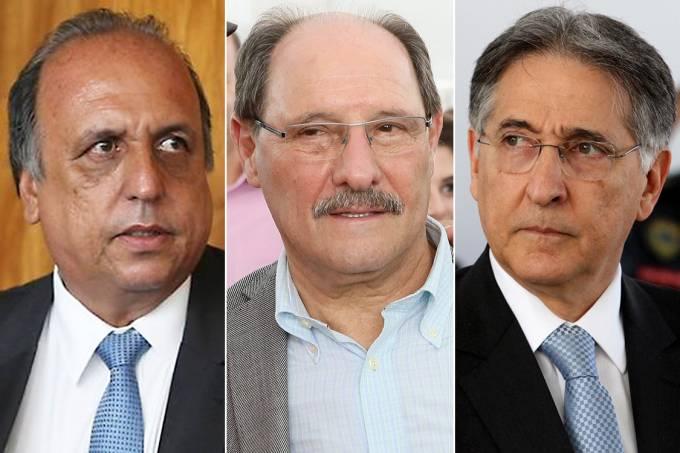 Luiz Fernando Pezão, José Ivo Sartori e Fernando Pimentel