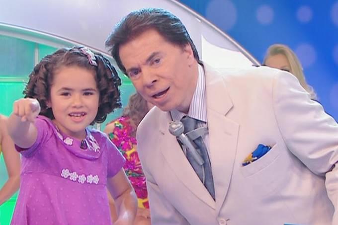 Maisa Silva e Silvio Santos