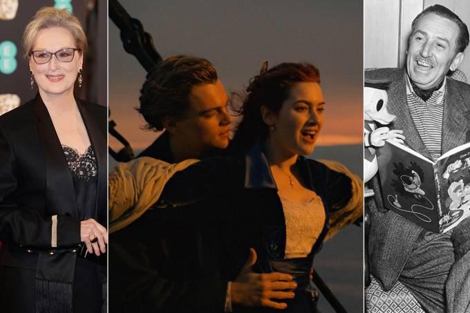 Meryl Streep, Titanic e Walt Disney