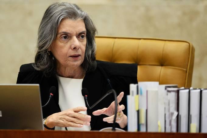 A presidente do STF ministra Cármen Lúcia