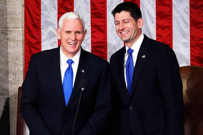 Sessão conjunta do Congresso americano
