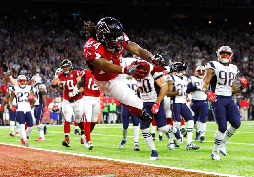 Atlanta Falcons e New England Patriots durante a final da 51ª edição do Super Bowl - 05/02/2017
