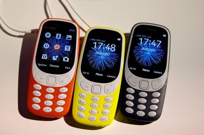 Nokia 3310 é apresentado ao público, em Barcelona