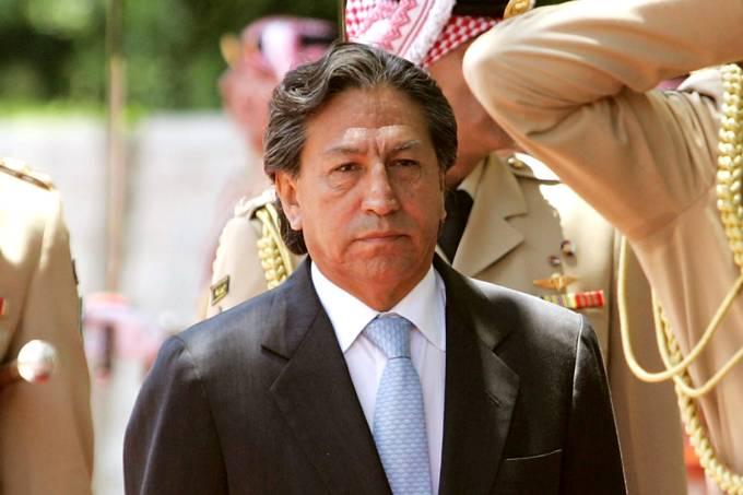Ex-presidente do Peru, Alejandro Toledo Manrique