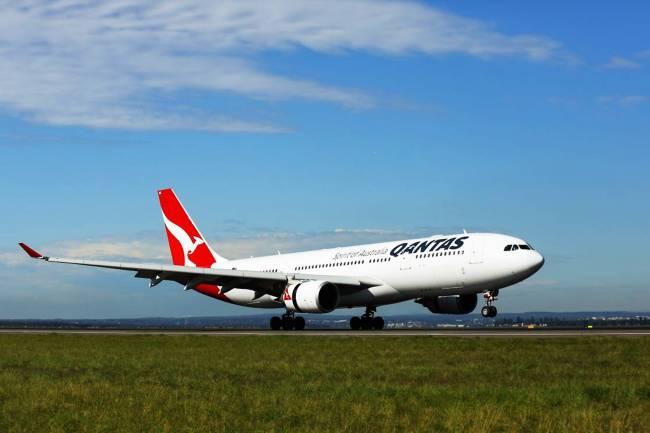 Qantas Airbus 330