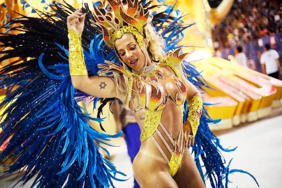 União da Ilha do Governador é a primeira escola a desfilar na segunda noite do Carnaval carioca  - 27/02/2017