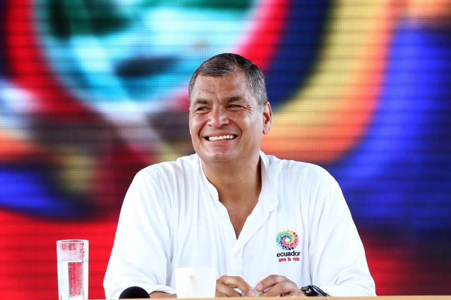 Rafael Correa - O Equador está na contramão dos países que tentam apurar as denúncias de corrupção levantadas pela Lava-Jato. A Odebrecht afirma que pagou 33,5 milhões de dólares para o membros do governo. Mas a procuradoria do país ainda não se movimentou para apurar as denúncias