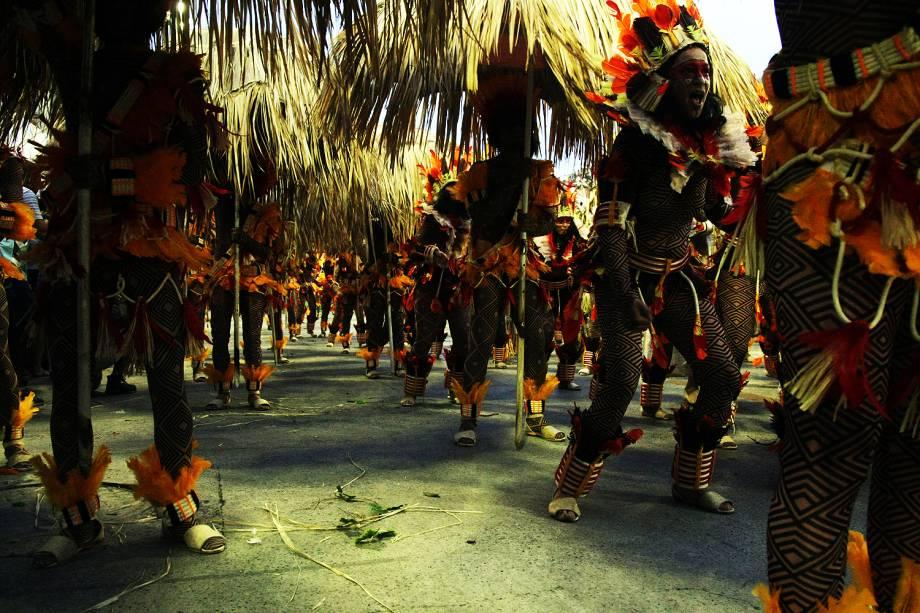 Desfile da escola de samba  Beija-Flor de Nilópolis no Sambódromo da Marquês de Sapucaí, no Rio de Janeiro (RJ) - 27/02/2017