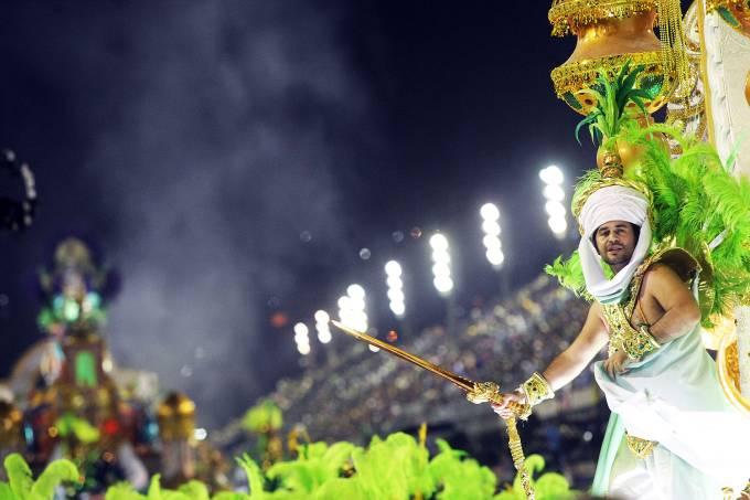 Desfile da escola de samba Mocidade Independente de Padre Miguel
