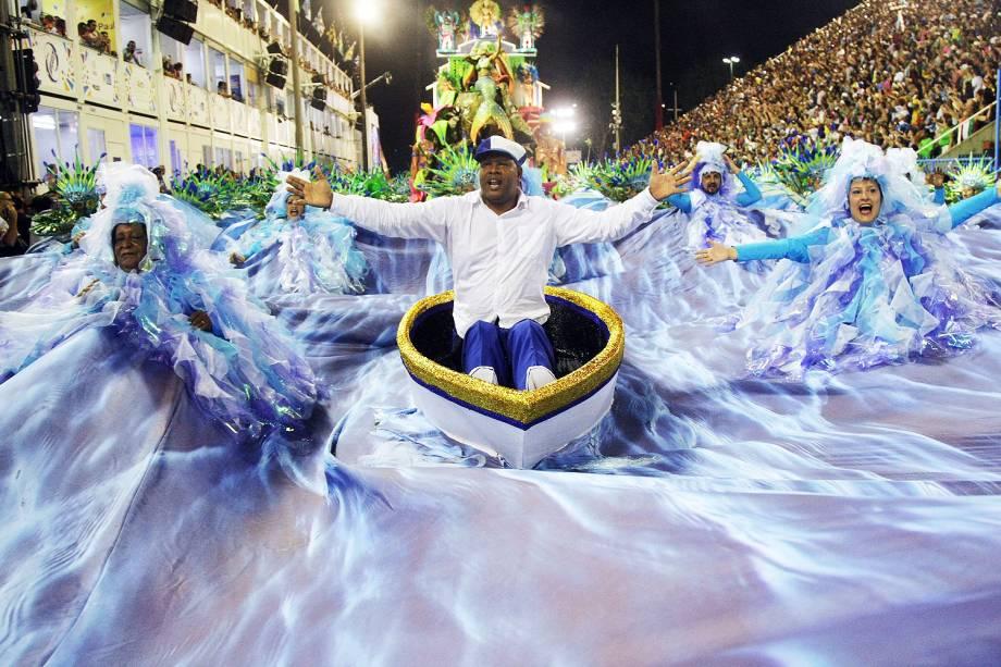 Desfile da escola de samba Portela, no Sambódromo da Marquês de Sapucaí, no Rio de Janeiro (RJ) - 28/02/2017