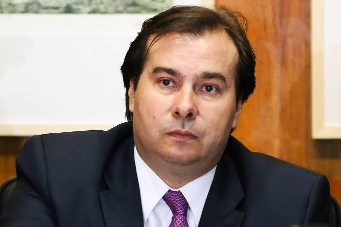 O deputado federal Rodrigo Maia (DEM-RJ)