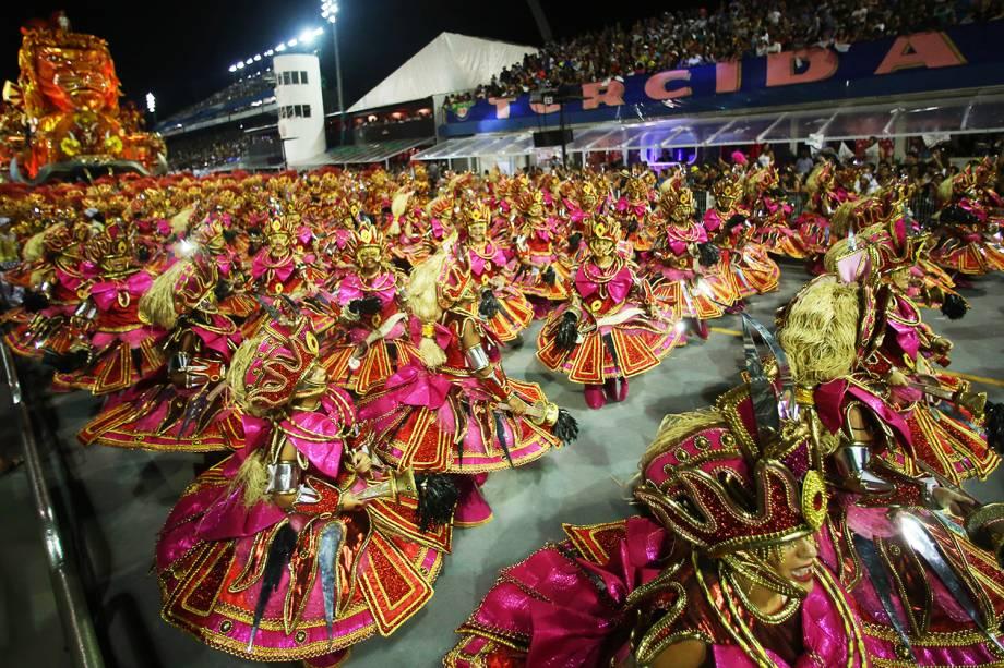 Vai-Vai é a quinta escola a desfilar na segunda noite do Carnaval paulistano - 26/02/2017