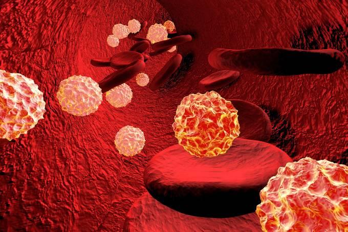 Vírus no sangue durante infecção generalizada