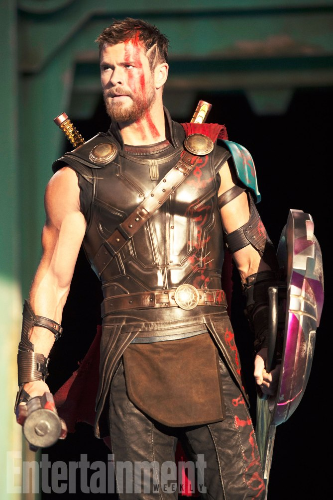 Chris Hemsworth em 'Thor: Ragnarok'