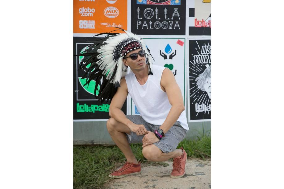 Público acompanha shows na 6ª edição do festival Lollapalooza, no Autódromo Interlagos, em São Paulo