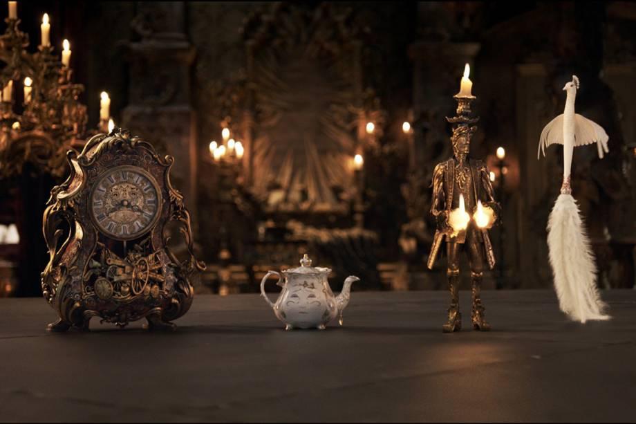 Cena do filme 'A Bela e a Fera'