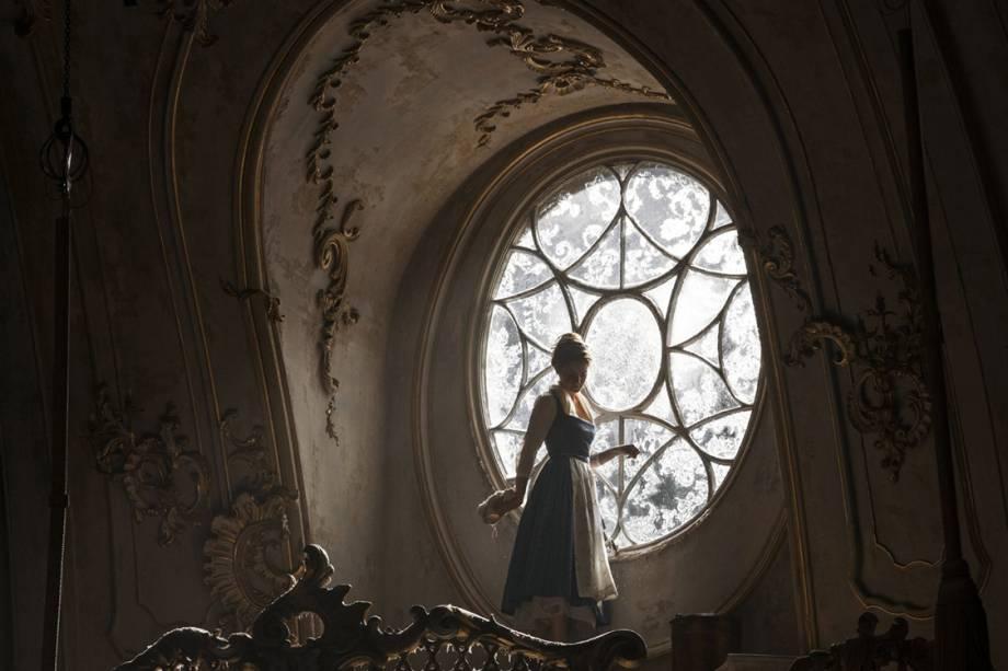Emma Watson em cena do filme 'A Bela e a Fera'