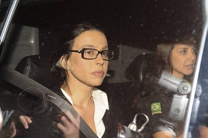 A ex-primeira-dama Adriana Ancelmo