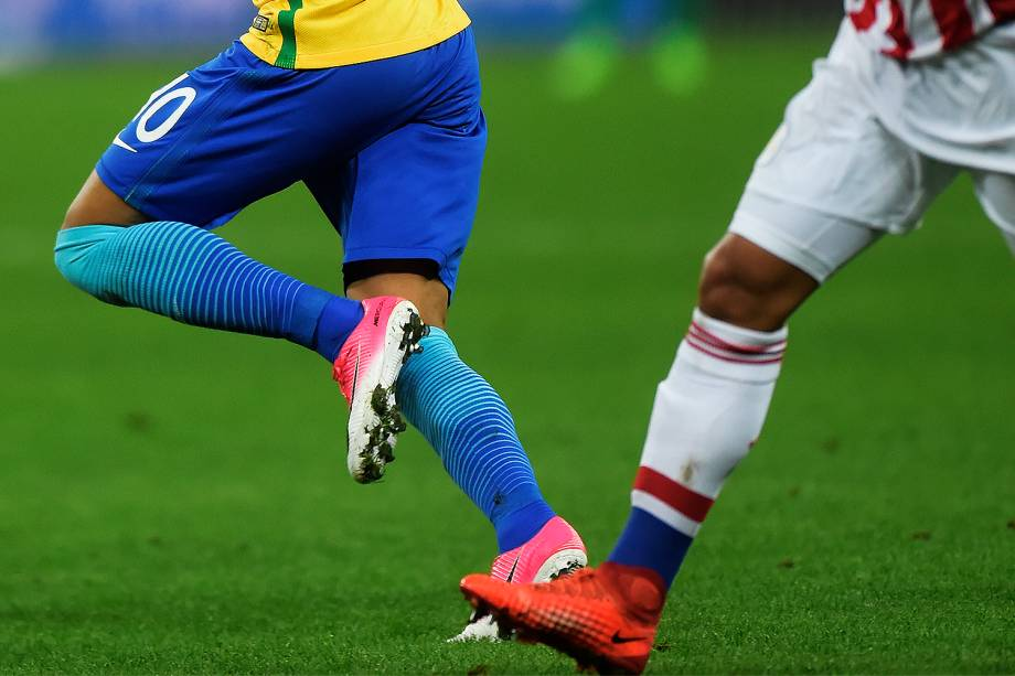 Partida entre Brasil e Paraguai válida pela 14ª rodada das Eliminatórias da Copa do Mundo Rússia 2018, na Arena Itaquera, em São Paulo - 28/03/2017