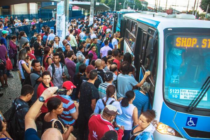 Greve Geral – Paralisações afetam o transporte público nesta sexta 28/04