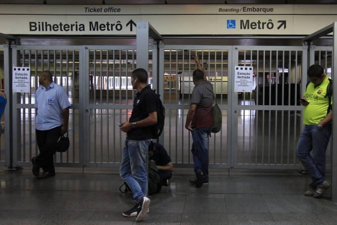Greve 01/08: Metrô e CPTM – Paralisação