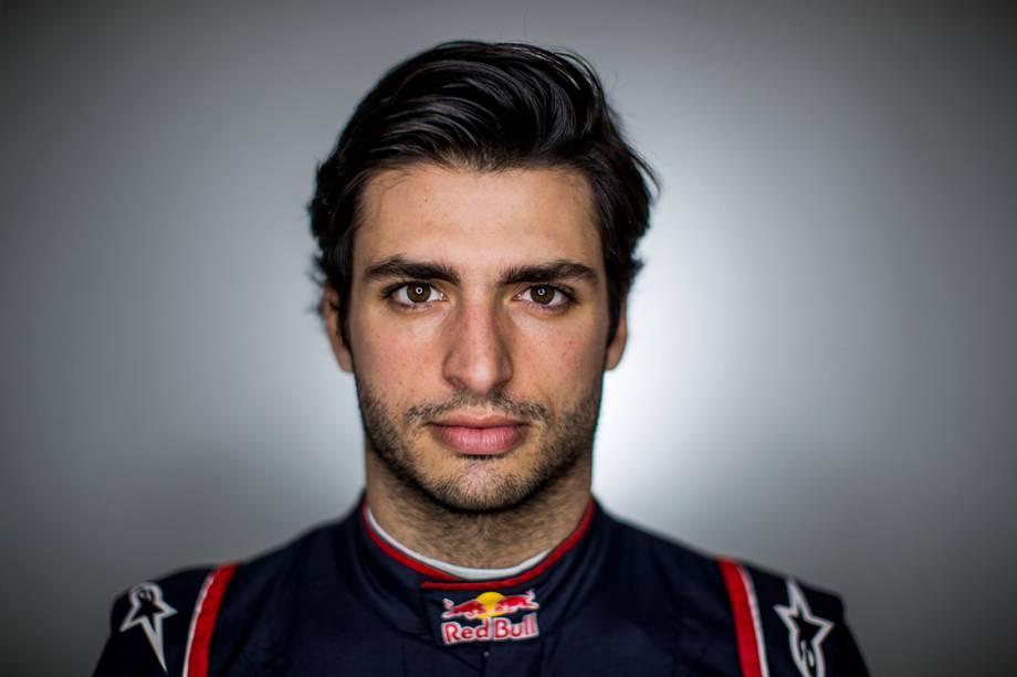 Carlos Sainz, 21 anos, Espanha. Compete pela Toro Rosso.