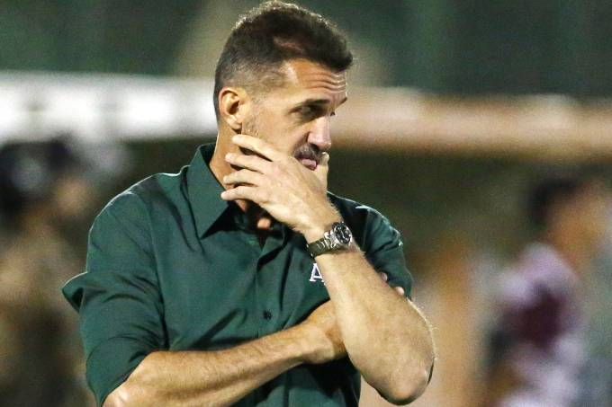 O técnico Wagner Mancini