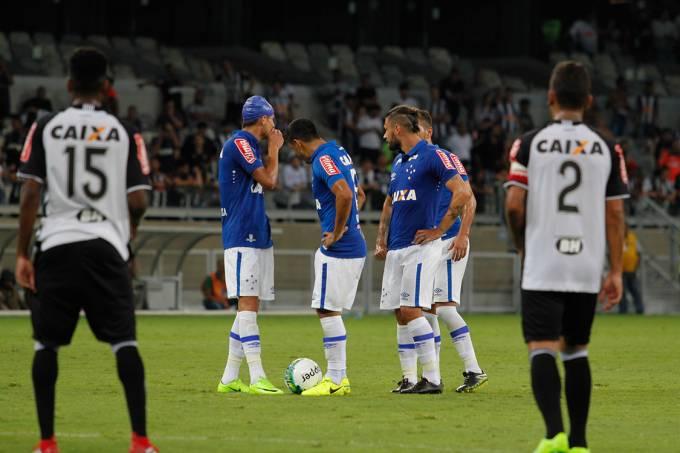 Partida entre Cruzeiro e Atlético Mineiro