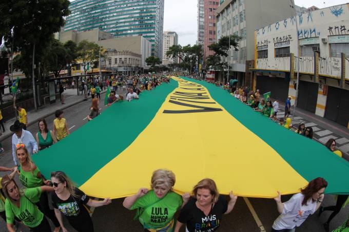 """Manifestações organizadas pelo """"Movimento Brasil Livre"""" (MBL) e """"Vem Pra Rua"""" acontecem hoje por todo o país – 26/03/2017"""