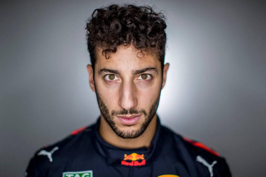 Daniel Ricciardo, 27 anos, Austrália. Corre pela Red Bull Racing e tem 18 pódios.