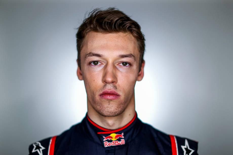 Daniil Kvyat, 21 anos, Rússia. Corre pela Toro Rosso.