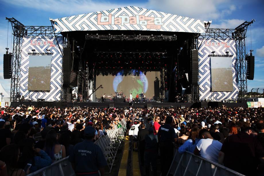 Duran Duran se apresenta na sexta edição do festival Lollapalooza, no Autódromo de Interlagos, em São Paulo