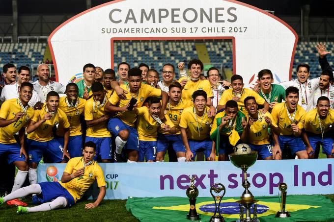 Brasil conquista o Sul-Americano sub-17