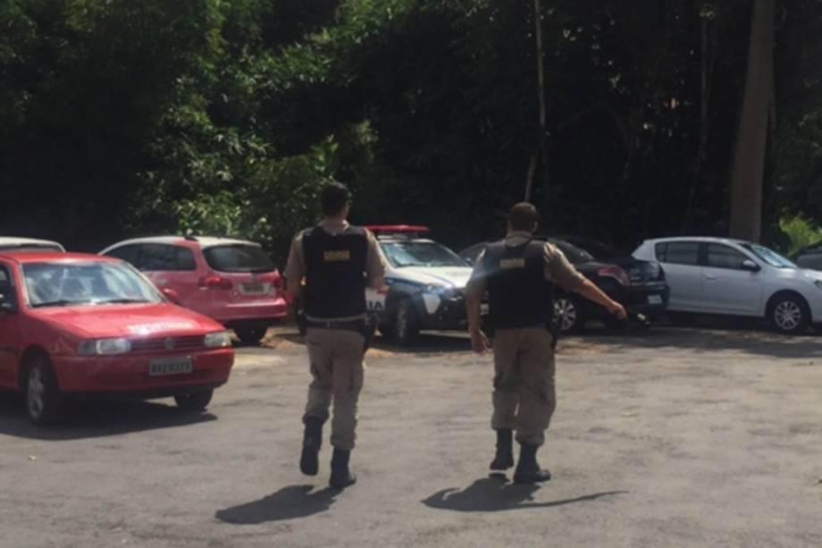 Como não haviam manifestações, policiais foram embora do CT após 25 minutos