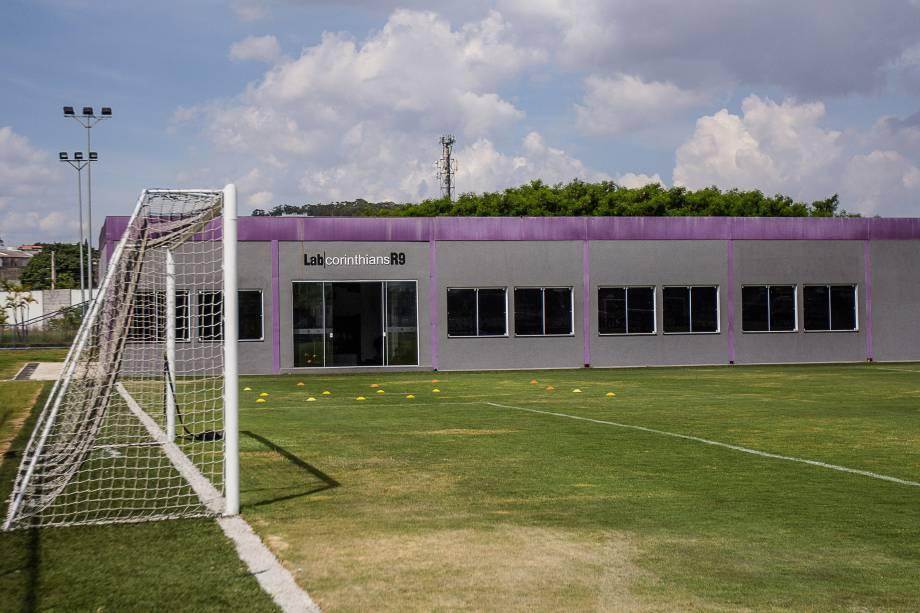 Lab Corinthians R9 no CT Joaquim Grava, Zona Leste de São Paulo