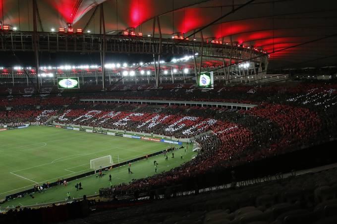 Partida entre Flamengo e San Lorenzo