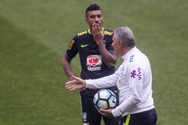 O técnico Tite da seleção brasileira