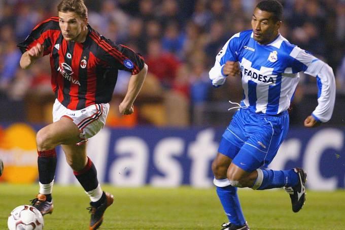Milan x La Coruña – Liga dos Campeões 2004
