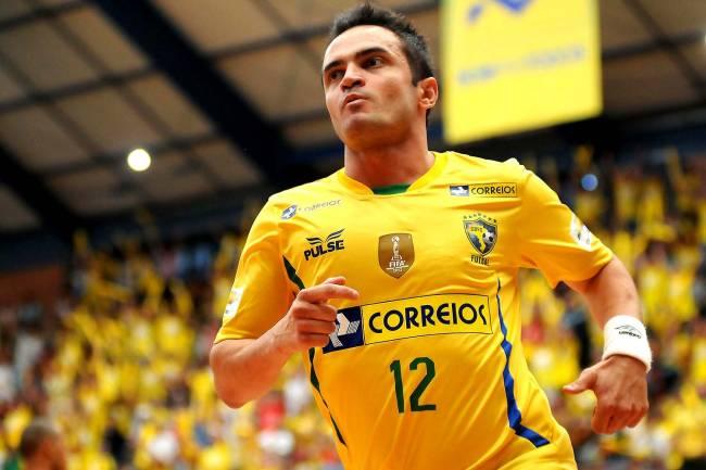 Falcão, jogador de Futsal