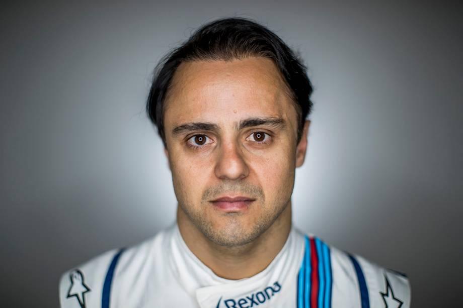 Felipe Massa, 35 anos, Brasil. É piloto da Williams e possui 41 pódios.