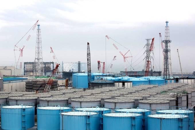 Usina Nuclear em Fukushima no Japão