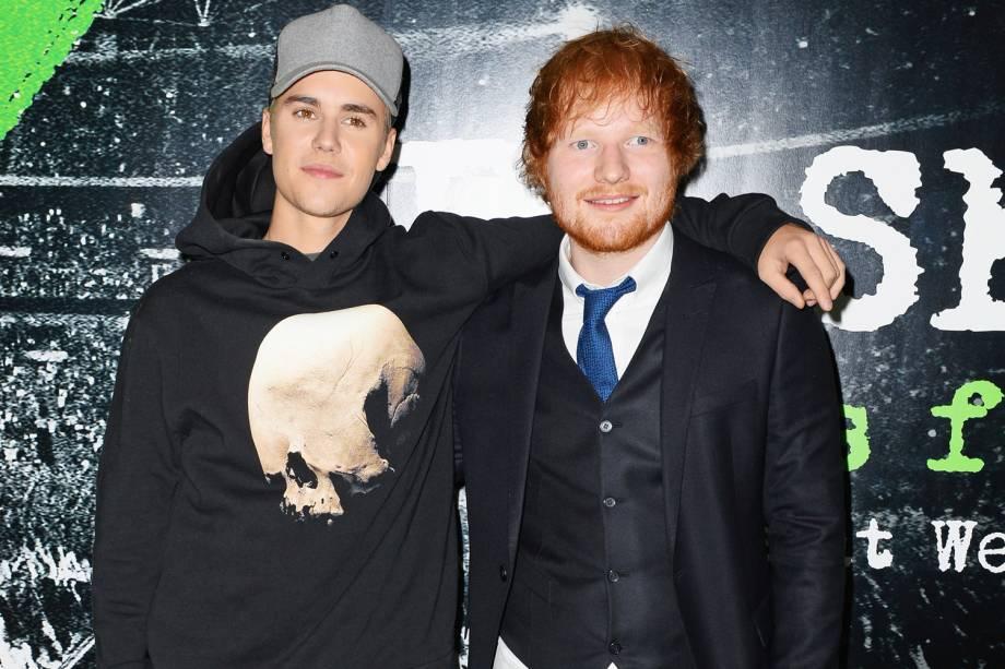 Justin Bieber e Ed Sheeran