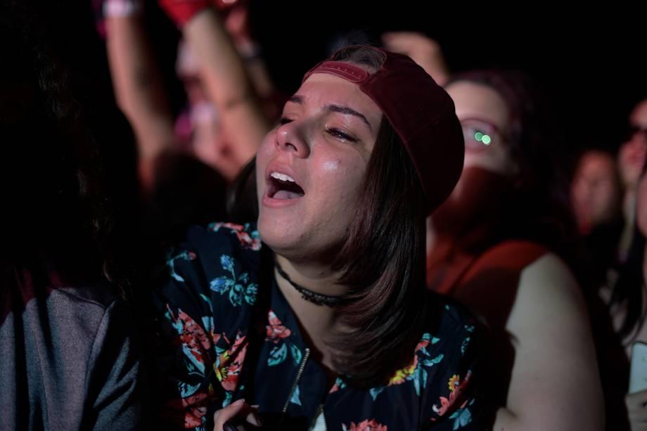 Público assiste ao show da cantora Melanie Martinez na 6ª edição do Lollapalooza